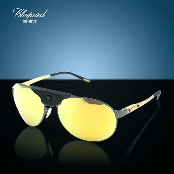 dce80dd8c39 Chopard Polarized Aviator Sunglasses SCH-932-K10G